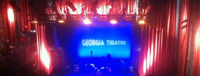 Georgia Theatre is one of CWPR Clients.