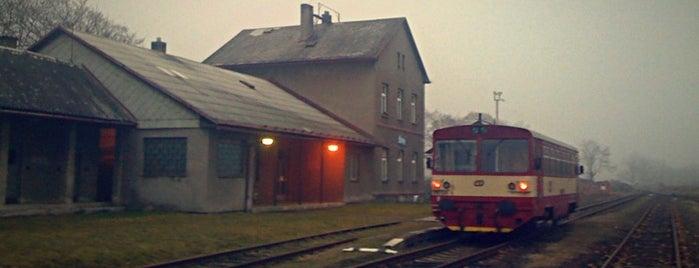 Železniční stanice Štíty is one of Železniční stanice ČR: Š-U (12/14).