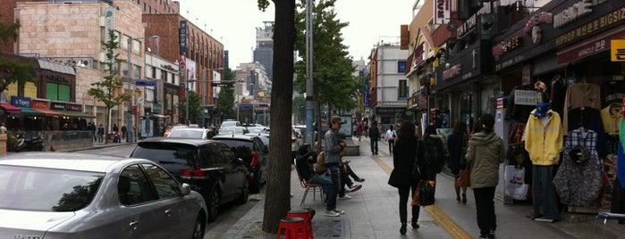 이태원로 (Itaewon-ro) is one of Seoul City Badge - Lucky Seoul.
