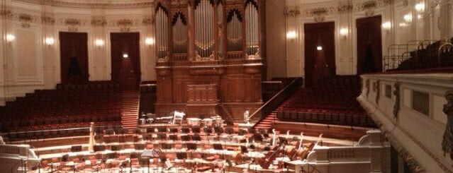 Het Concertgebouw is one of Bart in Amsterdam.