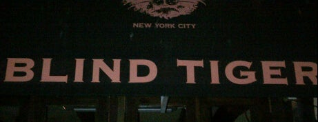The Blind Tiger is one of NYC.
