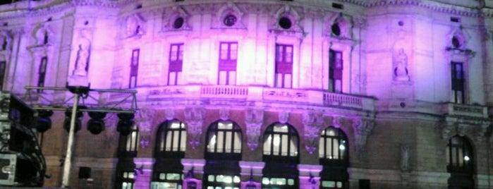 Teatro Arriaga is one of let's get Bilbao's badge (Spain) #4sqCities.