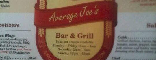 Average Joe's is one of Favorite Nightlife Spots.
