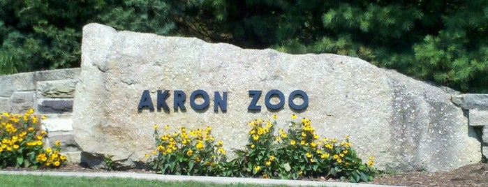 Akron Zoo is one of Ohio's Newest Adventures in 2013!.