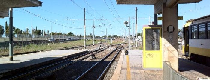 Centocelle (linea Roma-Giardinetti) is one of Muoversi a Roma.