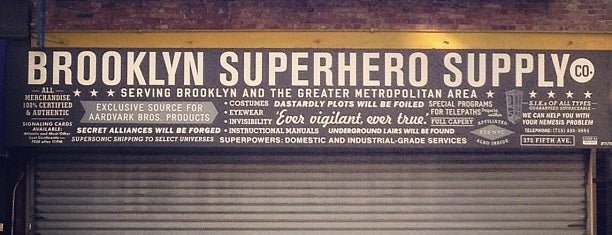 Brooklyn Superhero Supply Co. is one of to do New York.