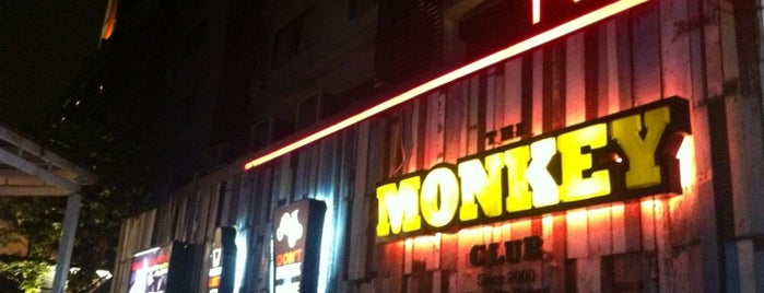Monkey Club is one of Hang Out.