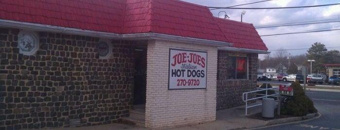 Joe Joe's Italian Hot Dogs is one of Dogs in Jersey.