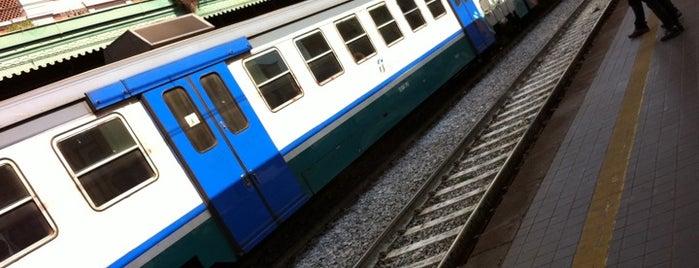 """Stazione di Pompei is one of Foursquare needs a """"Subway Hero Badge""""."""