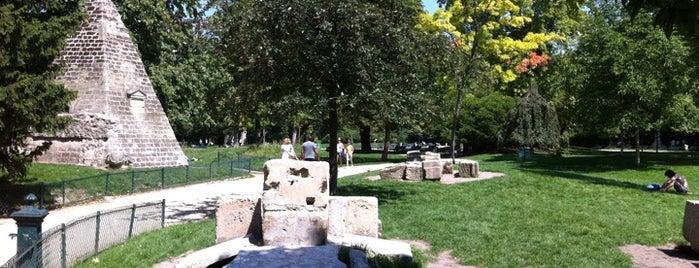 Parc Monceau is one of Parcs & Jardins de Paris.