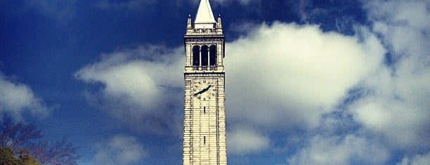 Campanile (Sather Tower) is one of Bear Walk.