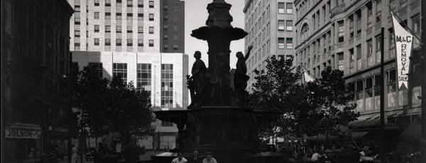 Fountain Square is one of Surviving Historic Buildings in Cincinnati.