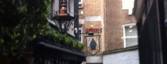 Ye Olde Mitre Tavern is one of London's best pubs & bars.