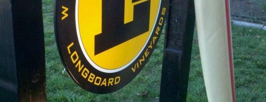 Longboard Vineyard Tasting Room is one of Wine Road Picnicking- al Fresco Perfetto!.