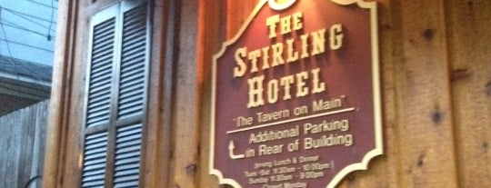 The Stirling Hotel is one of Koo Places.