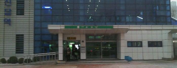 신답역 (Sindap Stn.) is one of Subway Stations in Seoul(line1~4 & DX).