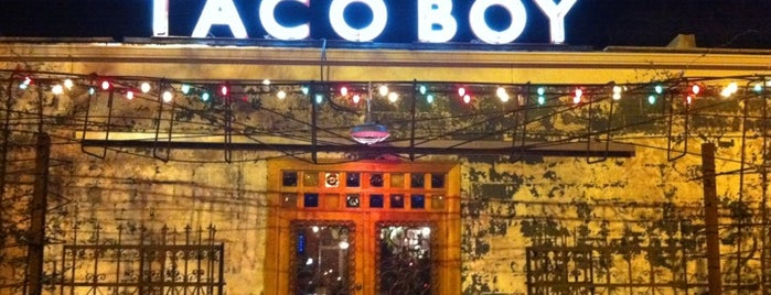 Taco Boy is one of 20 favorite restaurants.