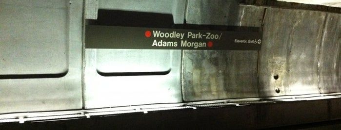 Woodley Park-Zoo/Adams Morgan Metro Station is one of WMATA Train Stations.