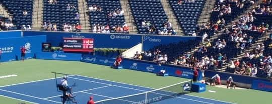 Rogers Cup is one of 2 do list # 2.
