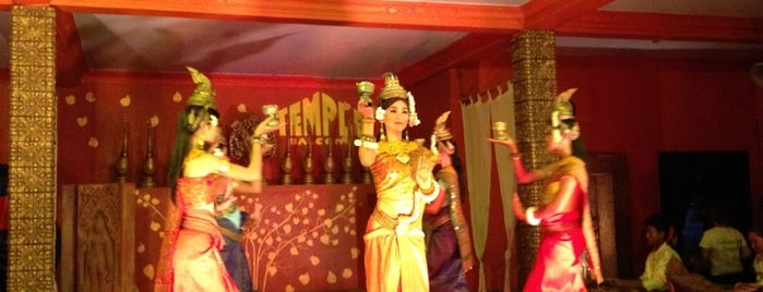 Temple Club is one of Siem Reap Sep2012.