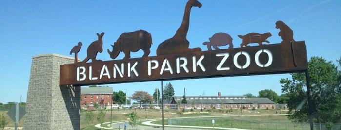 Blank Park Zoo is one of Entertainment: USA.