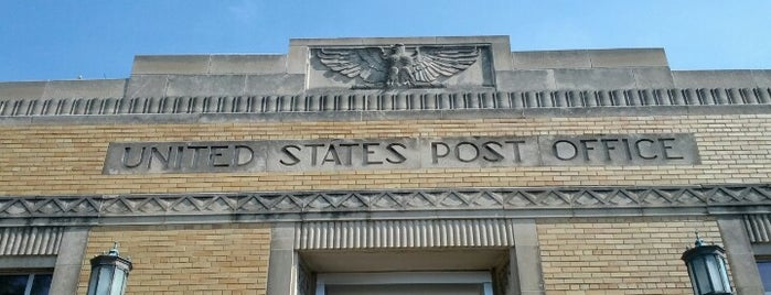 US Post Office is one of Guide to Royal Oak's best spots.