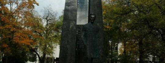 Paminklas Vincui Kudirkai | Vincas Kudirka monument is one of Vilnius: student edition.