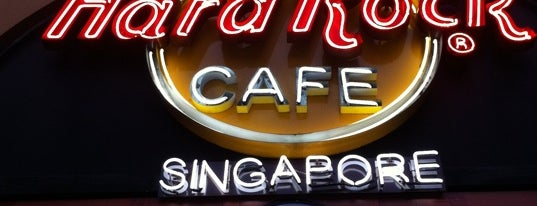 Hard Rock Cafe Singapore is one of Hard Rock Cafe.