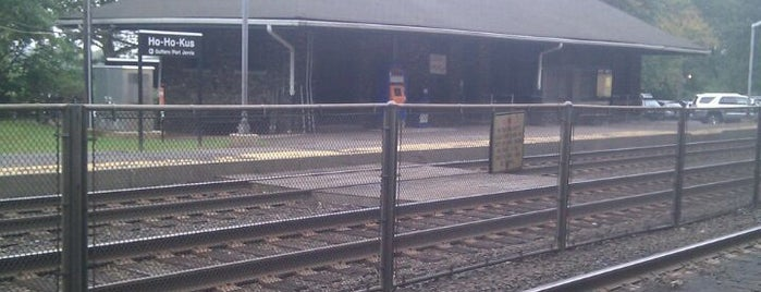 NJT - Ho-Ho-Kus Station (MBPJ) is one of New Jersey Transit Train Stations.