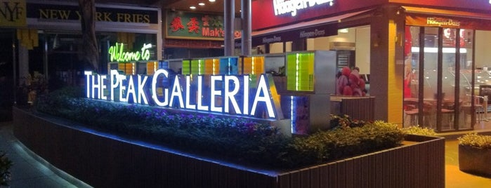 The Peak Galleria 山頂廣場 is one of Shopping Malls.