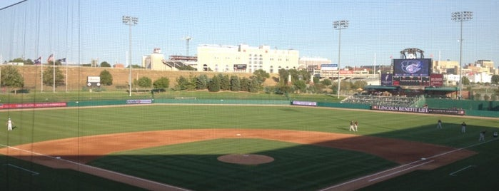 Hawks Field at Haymarket Park is one of Family Fun Places - Lincoln, NE.