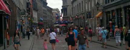 Old Montreal is one of Canada Favorites.
