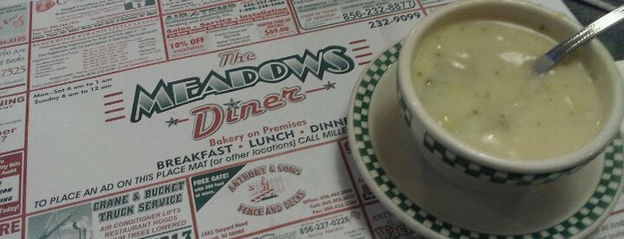 Meadows Diner is one of The Best New Jersey Diners.