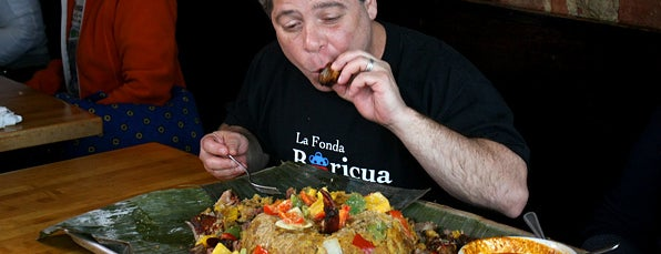 La Fonda is one of Man v Food Nation.