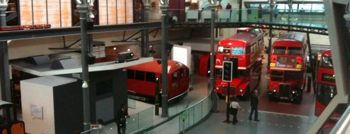 London Transport Museum is one of London as a local.