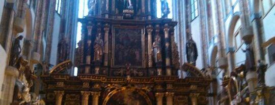 Kostel Panny Marie Sněžné is one of Prague.
