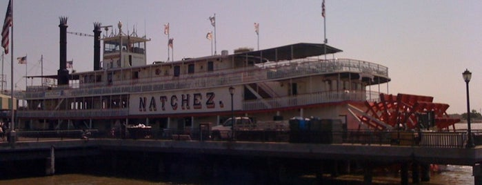 Steamboat Natchez is one of New Orleans City Badge - The Big Easy.