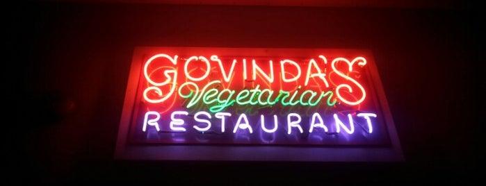 Govinda's Vegetarian Restaurant is one of Food!.