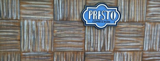 Presto is one of Top picks for Cafés.