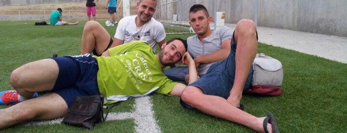 Campos de futbol donde jugamos :)