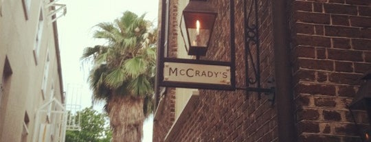 McCrady's is one of Favorite Food.