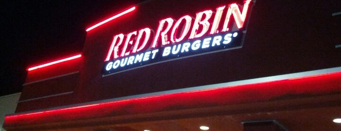 Red Robin Gourmet Burgers is one of Did that.