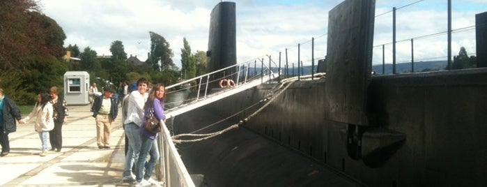 Museo Naval Submarino O'Brien is one of Valdivia.