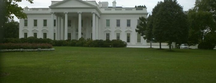The White House is one of Washington D.C..