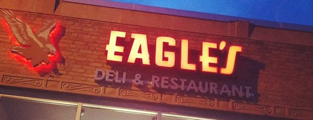 Eagle's Deli is one of Man v Food Nation.