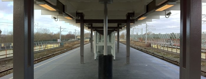 Metrostation Strandvliet is one of Alle Amsterdamse Metrostations.