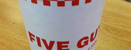 Five Guys is one of Top picks for Burger Joints.
