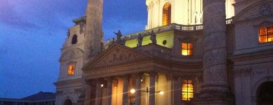 Karlskirche is one of Exploring Vienna (Wien).