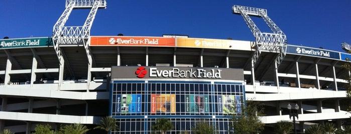 EverBank Field is one of Hoiberg's Favorite Places in JAX.