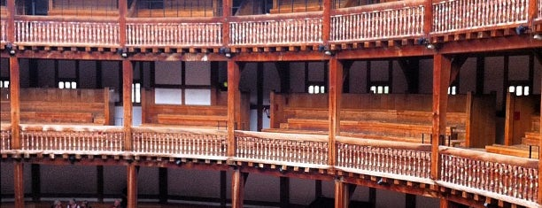 Shakespeare's Globe Theatre is one of London.